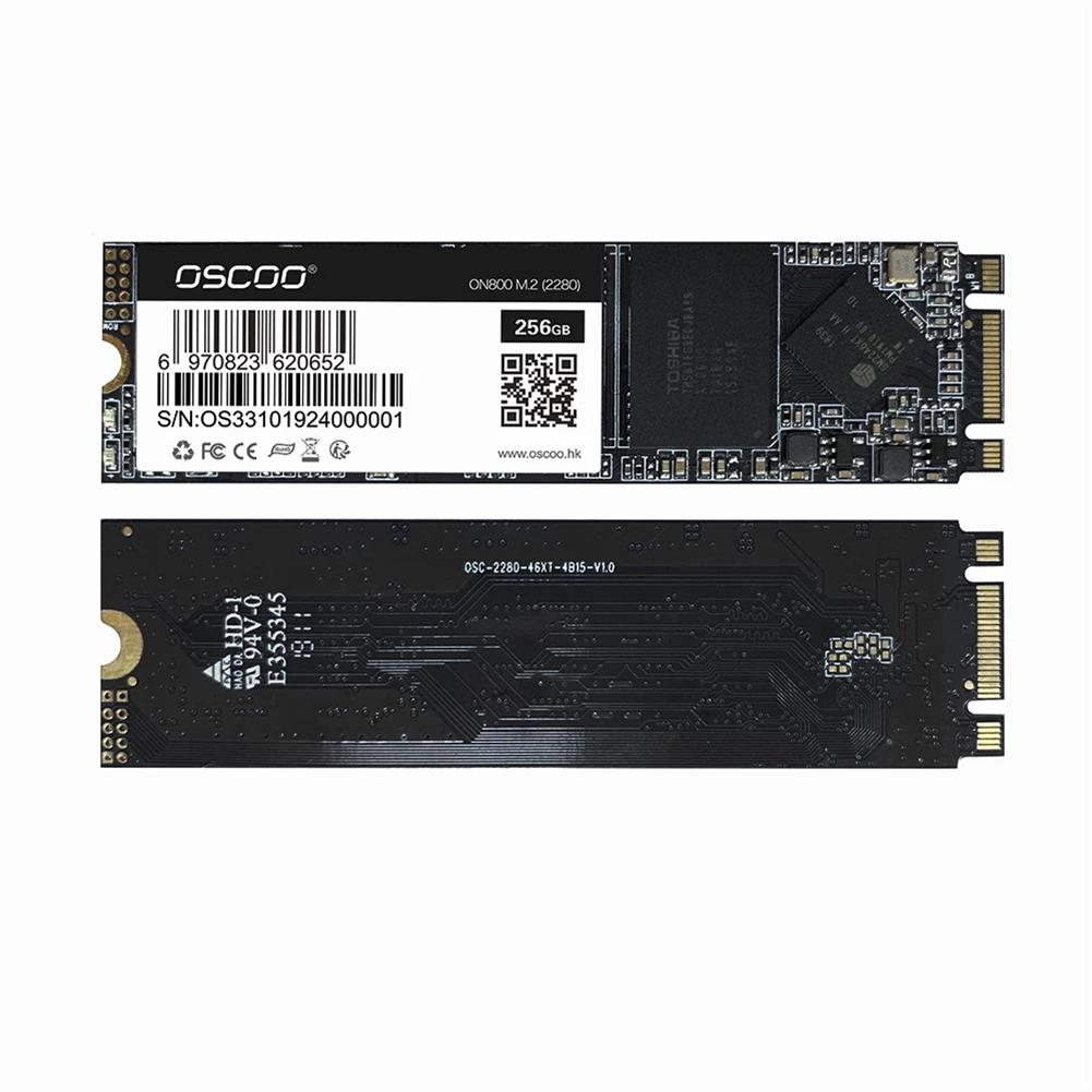 solid-state-drives OSCOO M.2 SATA Solid State Drive internal 2280 NGFF SSD Hard Disk for Laptop HOB1840002 1 1