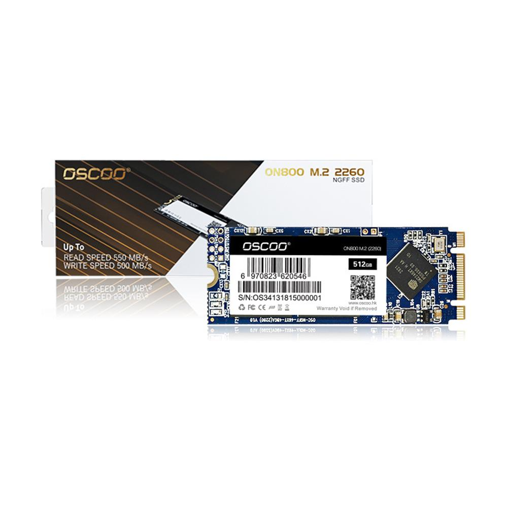 solid-state-drives OSCOO M.2 2260 SATA SSD NGFF Solid State Drive Hard Disk for Computer Laptop OSCOO ON800 HOB1840017 1 1