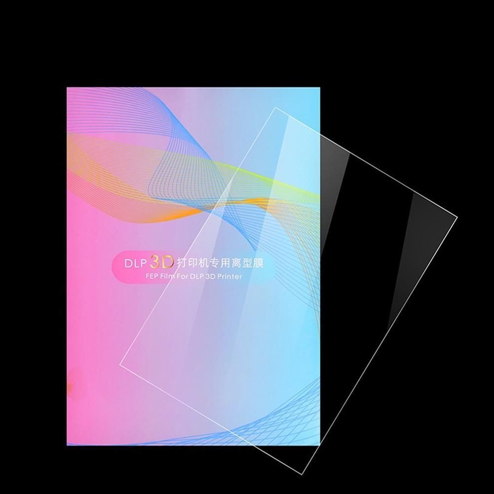 3d-printer-accessories 140x200mm Light Curing DLP Release Film Smooth Surface FEP Film for Photon DLP SLA Resin UV Resin 3D Printer HOB1840260 1