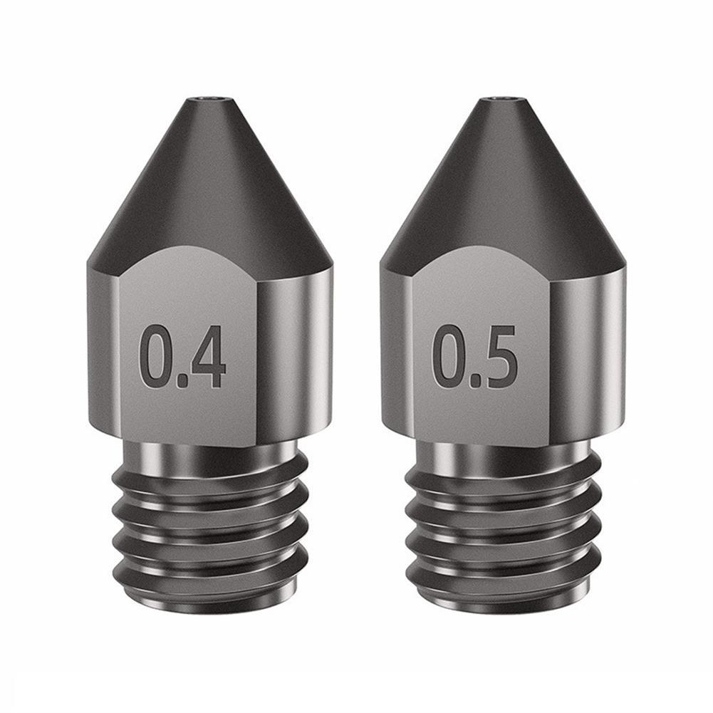 3d-printer-accessories 0.2/0.3/0.4/0.5mm Hardened Steel Super Hard Nozzle for 1.75mm Filament 3D Printer Part HOB1840265 1 1