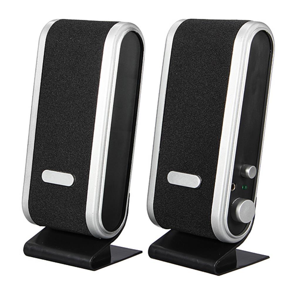 computer-speakers Mini 3.5mm USB Jack USB Audio Power Speaker for PC Notebook HOB80912 1