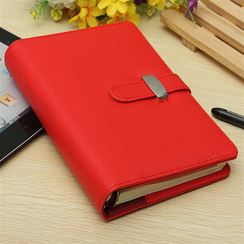 paper-notebooks Vintage Identity Organiser Planner Leather Look Diary Notebook HOB925660 1 1