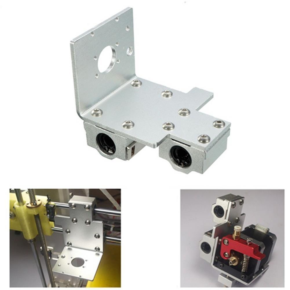3d-printer-accessories X-Axis Long / Short Distance Print Head Aluminum Mounting Base for 3D Printer HOB998622 1 1